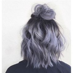35 Short Ombre Hair Color Ideas for Brunettes That Are Trending for Short Ombre Hair Are you looking for short hair ombre? Then these 35 short ombre hair color ideas for brunettes that are trending for 2019 will be yo. Short Hair Updo, Short Hair Styles, Short Dyed Hair, Colored Short Hair, Wavy Updo, Short Hair Colour, Purple Ombre Hair Short, Short Pastel Hair, Coloured Hair