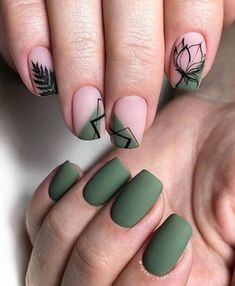 56 Chic Natural Short Sqaure Nails Design Ideas For Any Occasion - Page 55 of 56 - ногти Best Acrylic Nails, Matte Nails, Blue Nails, Stylish Nails, Trendy Nails, Hot Nails, Hair And Nails, Sqaure Nails, Pink Gel