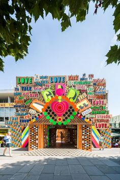 morag myerscough, luke morgan, supergrouplondon, temple of agape, southbank