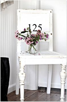 This would be cute on the front porch with house number stencilled on