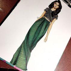 "579 Likes, 7 Comments - Achandal (@the.doll.venue) on Instagram: ""#art #artsy #artist #myart #fashion #fashionista #fashiondesign #fashionsketch #fashiondrawing…"""