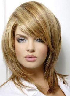two tone hair color ideas for short hair - Hair Color Ideas Medium Hair Styles, Short Hair Styles, Hair Medium, Beige Blond, Warm Blonde, Gold Blonde, Blonde Hair With Highlights, Highlights 2014, Blonde Streaks