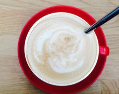If you heat your milk up in the microwave for a few seconds and give it a good stir, it'll get all frothy like a cappuccino. | 14 Tips For Improving The Way You Drink Coffee