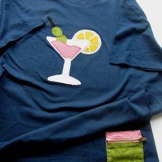 Cocktail t-shirt  | elenaline