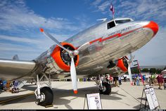 Douglas DC-3 - hands down the best all purpose Gangster aircraft ever. Damned hard to find a good one these days... The ones you'll find someplace in a third world country are nothing more than flying junkers that are running on their last hope and a prayer.