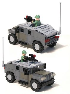 LEGO Military Models: A fist full of Hummers