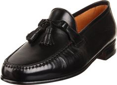 Allen Edmonds Men's Urbino Tassel B, Hand sewn details polish off this traditional loafer. Loafer Shoes, Loafers Men, College Hoodies, Allen Edmonds, Tassel Loafers, Men S Shoes, Black 7, Hand Sewn, Slip On Shoes