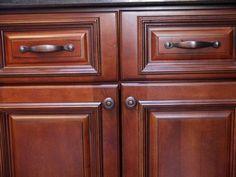 oil rubbed bronze hardware on dark cabinets - Google Search ...