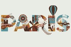 Paris, Typography and Design