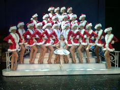Maddie Gardella as Clara in The Radio City Christmas Spectacular 2011 with The Rockettes
