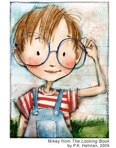 by Patrice Barton . . . . Love the 'too big for his face' glasses and the stick skinny arms!
