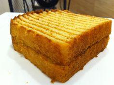 Brioche Toast with vegemite.