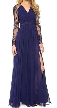 gorgeous blue gown                                                       …