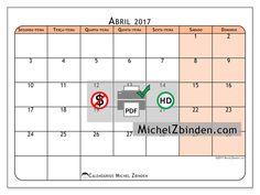 """Calendário abril 2017 """"Olivarius"""" por Michel Zbinden (Portugal)"""