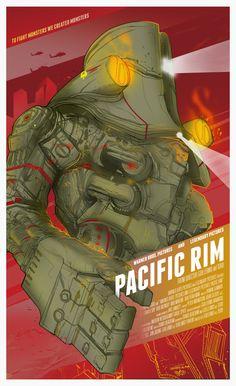 Berkay Daglar  - Pacific Rim - Poster Posse Project http://blurppy.com/2013/07/01/exclusive-blurppy-poster-posse-project-3-warner-bros-guillermo-del-toros-robots-vs-monsters-sci-fi-action-flick-pacific-rim/