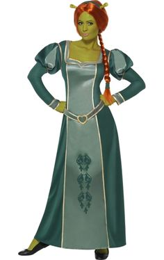Princess Fiona Shrek Costume