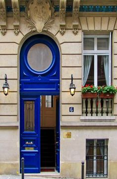 Bleu Door ~ Paris, France