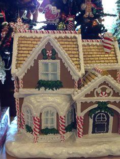Christmas shop gingerbread house
