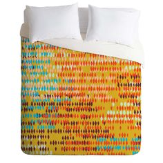 Khristian A Howell Bangalore Warm Duvet Cover | DENY Designs Home Accessories
