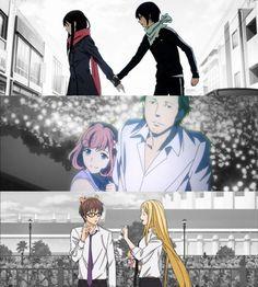 Noragami - Gods and their dearest persons Noragami Anime, Yatogami Noragami, Yato And Hiyori, Manga Anime, Noragami Characters, Anime Characters, Divas, Yatori, The Darkness