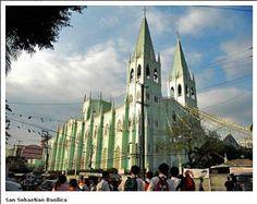 Basilica Minore de San Sebastian, National Shrine of Our Lady of Mt. Philippines, Places To Travel, Travel Destinations, Quezon City, Makati, Davao, Cebu, Future Travel, World Heritage Sites