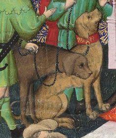 Titre :  Gaston Phébus, Livre de la chasse. — Gace de la Buigne, Déduits de la chasse.  Date d'édition :  1301-1500  Français 616  Folio 13r