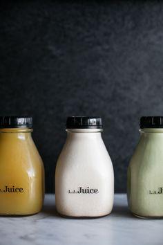 L.A. Juice bottles / sfgirlbybay