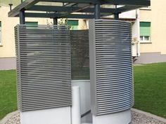 Wetterschutzgitter W57 aus Aluminium | Lüftungsgitter Alfitec Aluminium, Lattices
