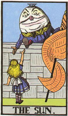 The Wonderland Tarot - If you love Tarot, visit me at www.WhiteRabbitTarot.com
