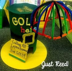 Leprechaun Traps: A Fun Family Project - Just Reed & Play St Patricks Day Crafts For Kids, St Patrick's Day Crafts, Holiday Crafts For Kids, Diy For Kids, Kid Crafts, March Crafts, Kindergarten Projects, School Projects, Projects For Kids