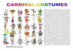 Resultado de imagem para carnival word search