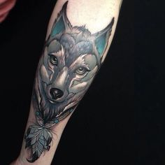 Like the bear, wolves are very prominent tattoo subjects. Get inspiration for your next wolf tattoo!