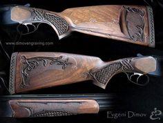gallery gunstocks- Evgeni Dimov-hand engraving