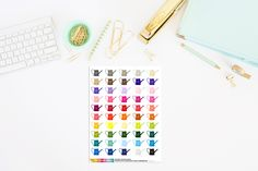 Watering Can Planner Stickers, Water your Plants, Erin Condren, Happy Planner, Inkwell Planner Stickers by TheCleverDesign on Etsy
