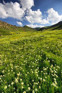 Landscape - Iran, Ardabil. Bagda Gul