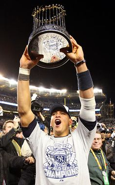Nothing more beautiful than that World Series title and Alex Rodriguez (: