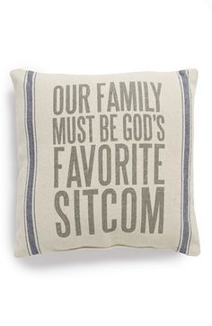 Primitives by Kathy 'Favorite Sitcom' Pillow available at #Nordstrom