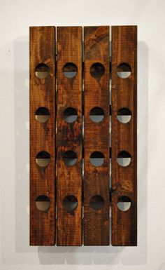Wine Rack Gift For Mom  Pottery Barn Crate by RchristopherDesigns, $49.99