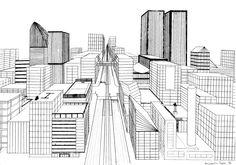 Die 19 Besten Bilder Von Raum Zeichnen Vanishing Point Pencil
