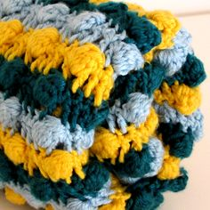 Crochet For Children: Crochet Baby Bobble Blanket ~ Free Pattern