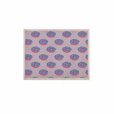 "Vasare Nar ""Pastel Doughnut Heaven"" Purple Pop Art KESS Naturals Canvas (Frame not Included)"