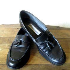 Image result for etienne aigner black loafers