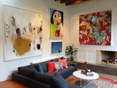 Bring authenticity, beauty, color and riches to any room by adding lots of original fine art paintings!