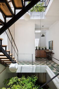 Atrium Vegan House / Block Architects Ho Chi Minh City, Vietnam