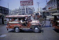 Philippines, Van, Trucks, Retro, Vehicles, Neo Traditional, Rolling Stock, Rustic, Cars