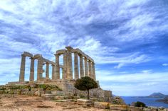 #Athens Greece - Discover the Temple of #Poseidon, the sanctuary of the god of the sea. #CelebrityCruises. #ShoreExcursions #Greece