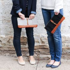 The Belmont Clutch will be your new favorite accessory for running around town in your favorite skinny jeans or pair the Belmont with your go-to black dress for