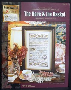Jean Farish Needleworks 1996 Spirit of Cross Stitch Sampler The Hare & The Basket