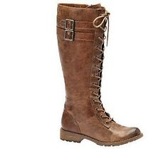 Sofft Bianca Jump Lace-up Tall Shaft Boots, QVC