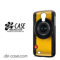 Lemon Yellow Leica Camera DEAL-6420 Samsung Phonecase Cover For Samsung Galaxy S4 / S4 Mini
